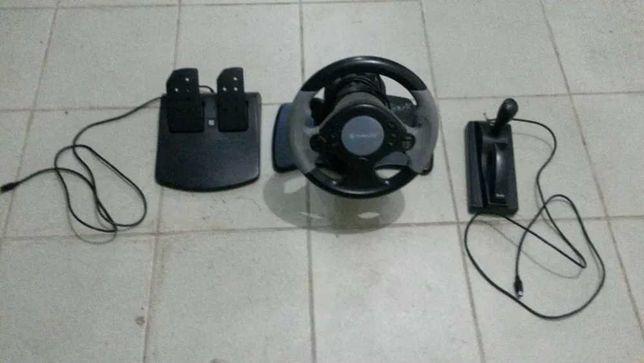 Игровой руль Defender Extreme Turbo для РС/PlayStation 2