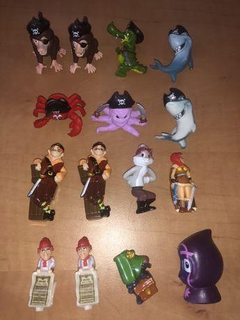 Kinder niespodzianka figurki piraci zwierzątka Piżamersi Avengers