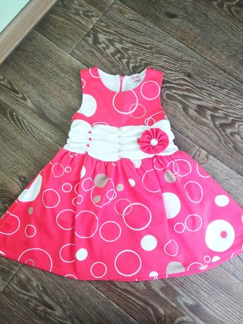 Платье-сарафан Pink для девочки 2-3 года.