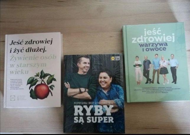 Książki kucharskie/kulinarne - Lidl 3-pak