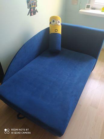 Łóżko z pojemnikiem materac +sprezyny