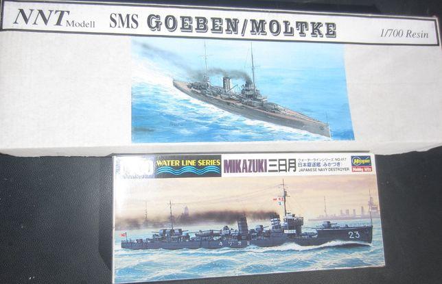 Navios de Modelismo Naval escala 1:700