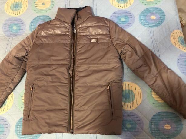 Теплая курточка для мальчика 11-13 лет