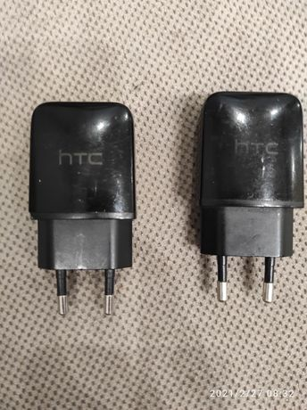 Ładowarki oryginalne HTC x 2 sztuki