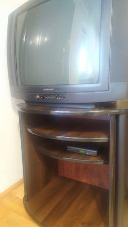 Tv Grundig 28 dekoder i szafka pod tv