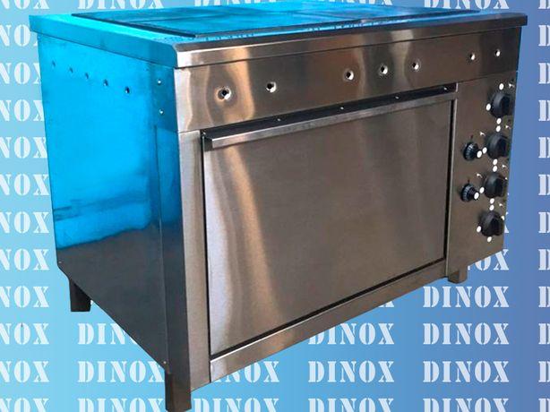 Плита, жарочный шкаф, нержавеющая мебель для столовых