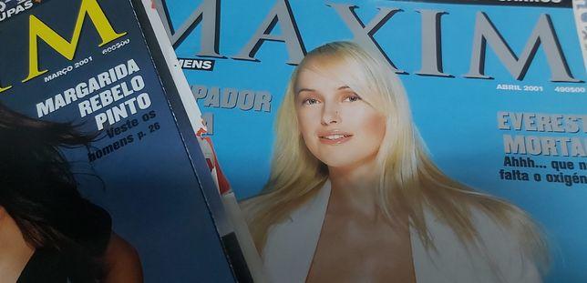 Revista Maxim. Número 0 e n.° 1 e n.º 2