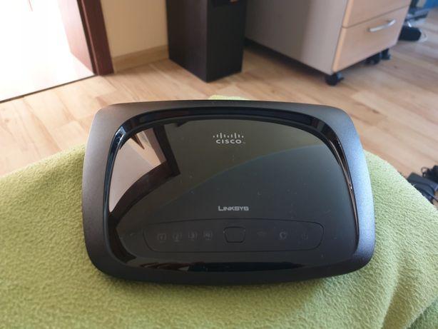 Router Wifi Linksys Cisco z zasilaczem