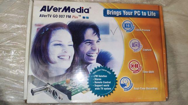 AVerTV GO 007 FM Plus(плата видео захвата)
