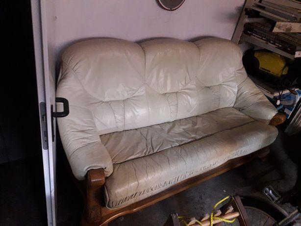 Sofa kanapa skorzana kler