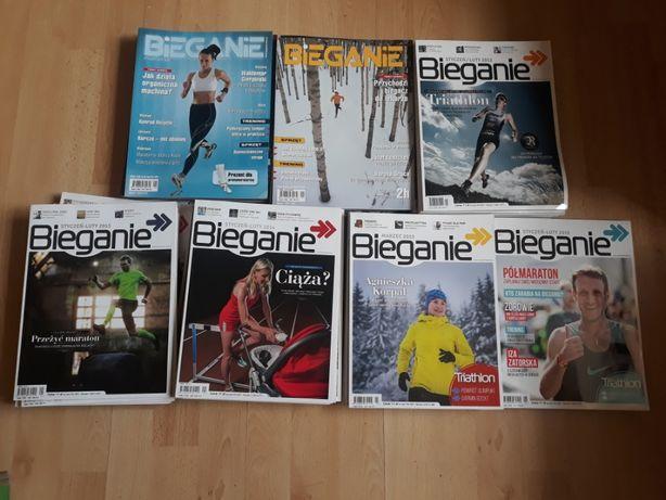 Magazyn bieganie - zestaw gazet z lat 2010-16
