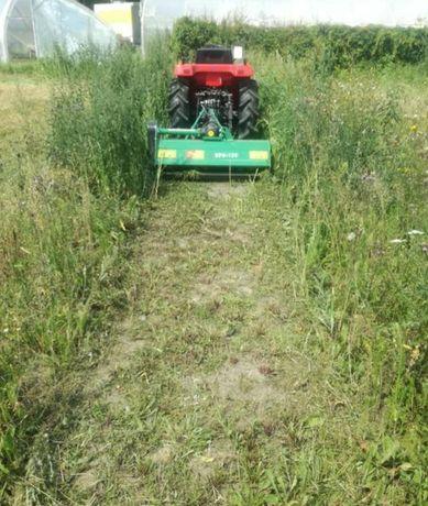 Uslugi  Mini traktorek glebogryzarka kosiarka bijakowa koszenie