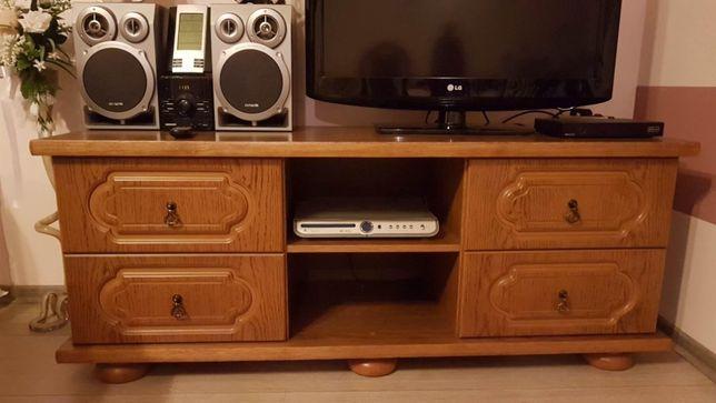 Drewniana szafka pod telewizor, drewniana komoda