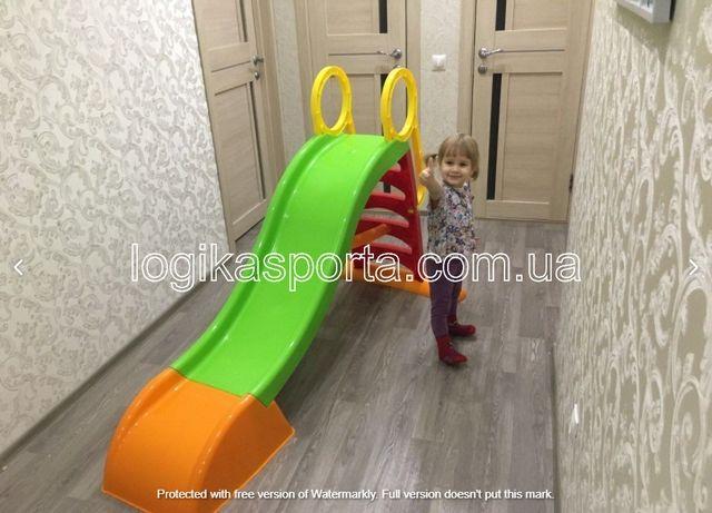 Горка детская пластиковая 180 см/ 187 см/ 200 см