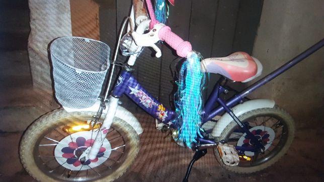 rowerek ''16 ''dla dziewczynki