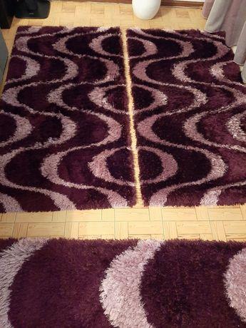 Conjunto de tapetes de quarto