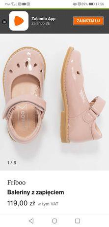 Pantofelki rozm. 24,firmy Friboo.