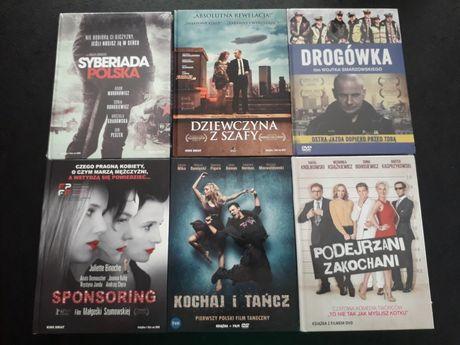 Polskie filmy dvd wydania książkowe, kochaj i tancz, syberiada