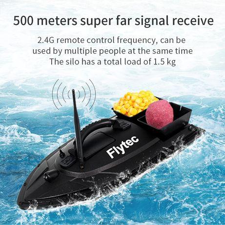 (NOVO)Barco carp fishing alcance 500m ,bateria 2/24h e Transp até 1,5k