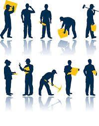 Услуги грузчиков, разнорабочих и подсобных рабочих.