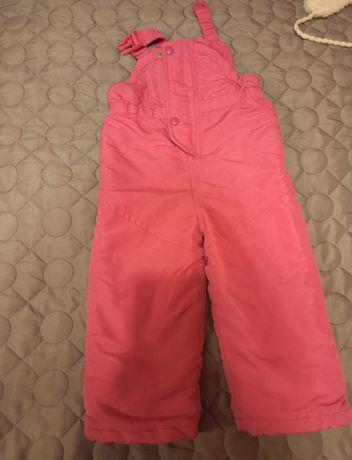 Spodnie narciarskie f&f rozmiar 86-92