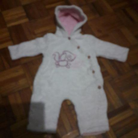 Babygrow polar co. Capuz de menina.2/3 m.