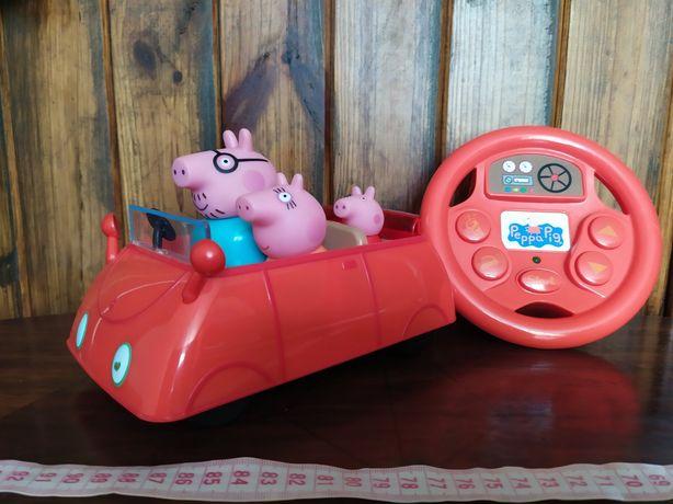 Машина Свинка Пеппа на пульті управління.