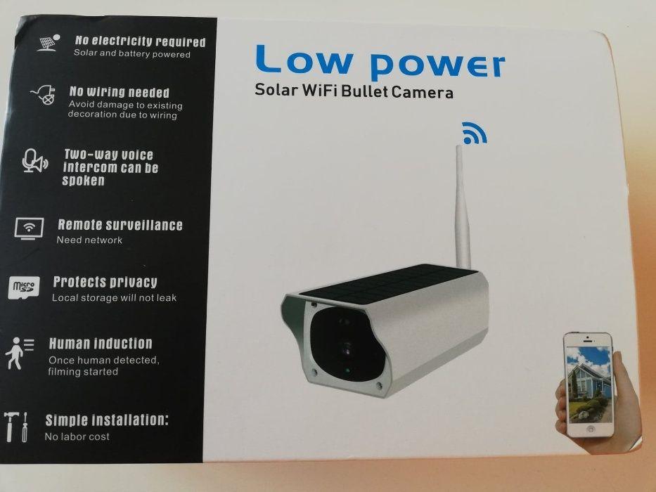 Kamery kamera Wifi zewnętrzna solarna na baterie karta sd Poznań - image 1