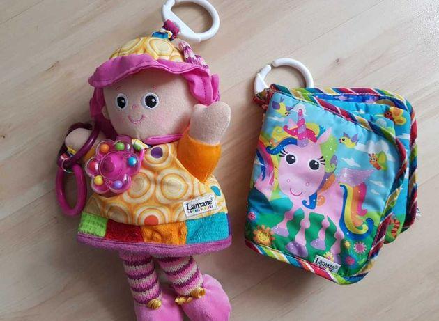 Lamaze książeczka i lalka Emilka