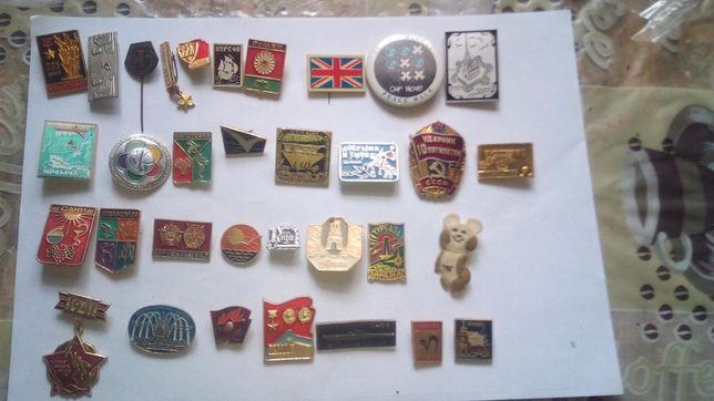 Продам небольшую коллекцию значков СССР