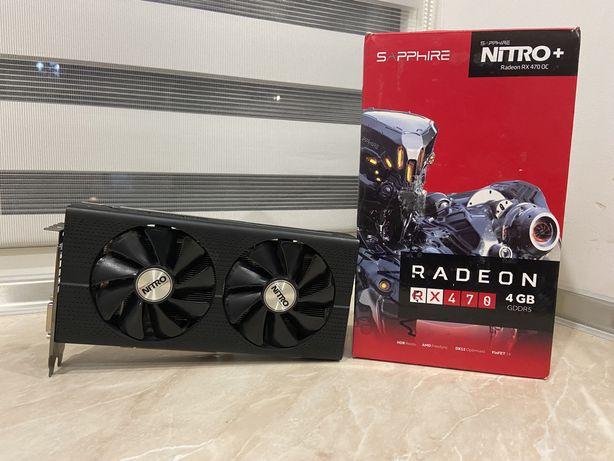 Видеокарта Radeon Nitro + RX 470 4G GDDR5 (не отображает картинку)