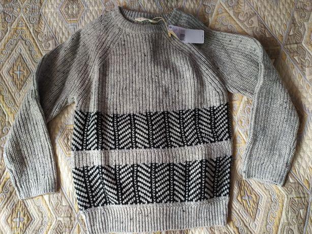 Пуловер свитер Mango на мальчика 9-10 лет