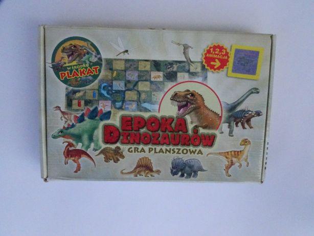 Gra planszowa Epoka Dinozaurów.