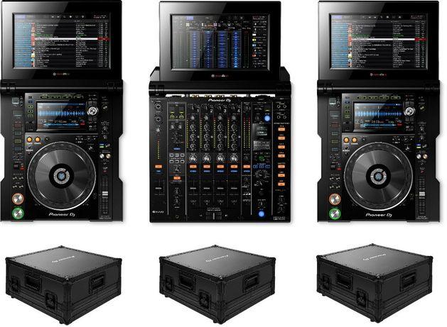 DJ konsola Pioneer Tour 1 2x CDJ Tour1 + 1x DJM Tour1 + 3x Walizki