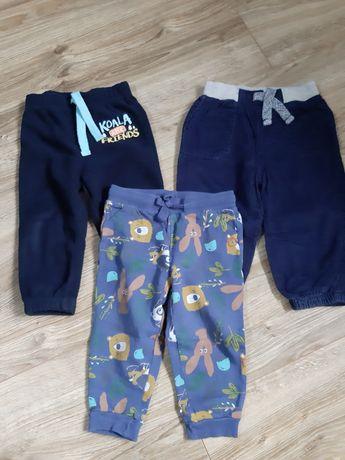 Spodnie 3 szt r.80