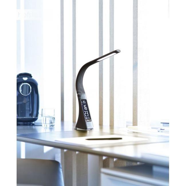 Elegancka lampka biurkowa EKO skóra kalendarz zegar ściemniacz Paul N. Częstochowa - image 1