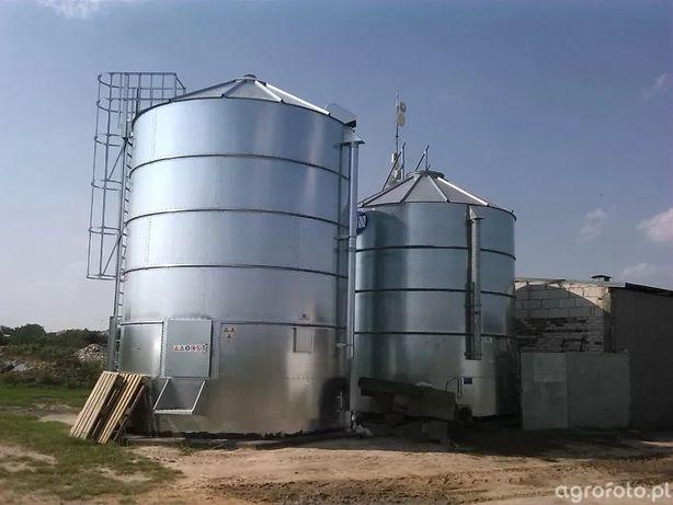Podwyższenia silosów zbożowych włazy boczne montaż demontaż BIN