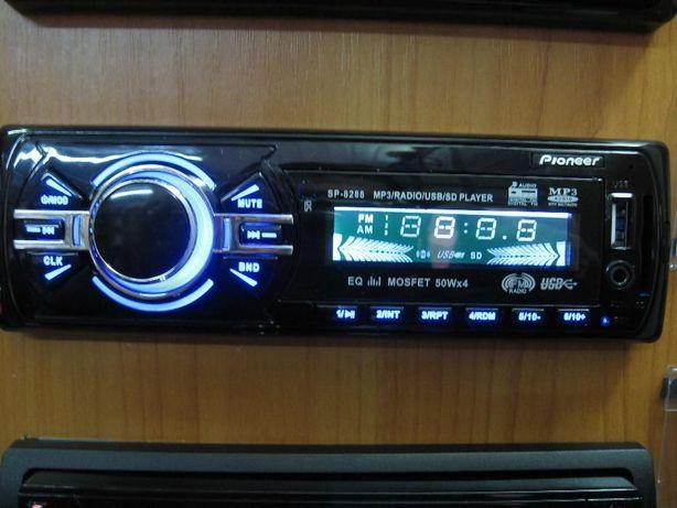 Магнитола Pioneer SP-8288 USB SD синяя подсветка