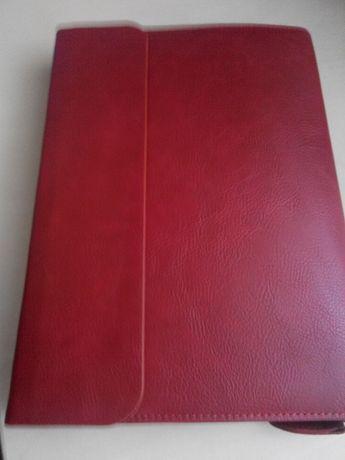 Ежедневник на кольцах Optima красный
