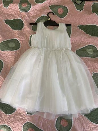 Sukienka tiulowa rozmiar  116 dlugosc calkowita 65 cm