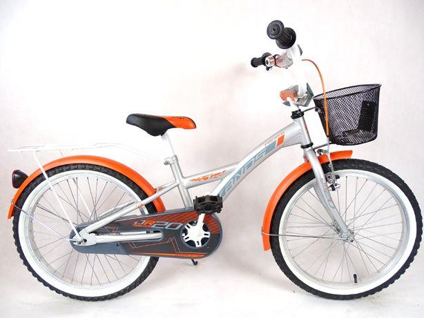 Rower chłopięcy KANDS TWISTER pomarańczowy