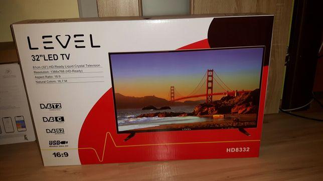 Nowy Telewizor LED 32 cale z najnowszym tunerem Dvbt2