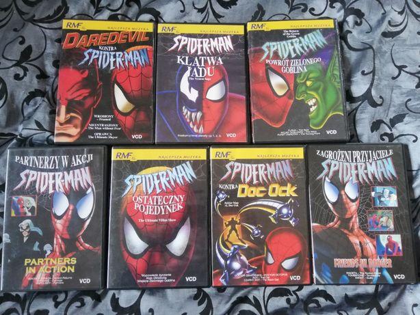Sprzedam Bajki Spider-Man 7szt.
