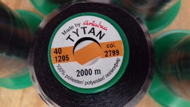 Нитка нить TYTAN № 40, 2000 м цвет 2799 нитки автомобильные