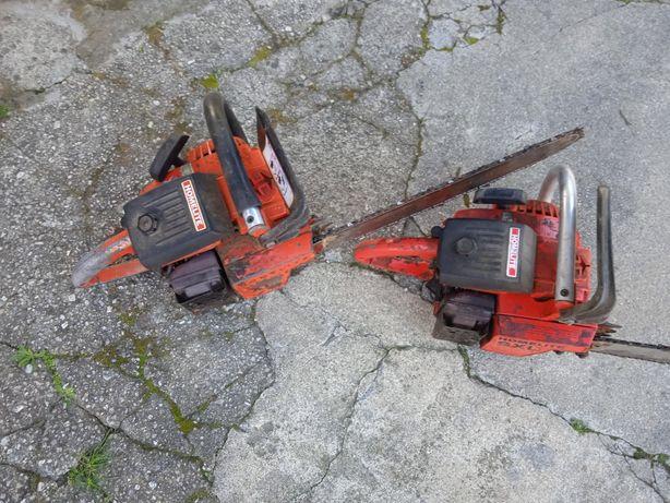Vendo dois motosserras um está em bom estado outro  para peças