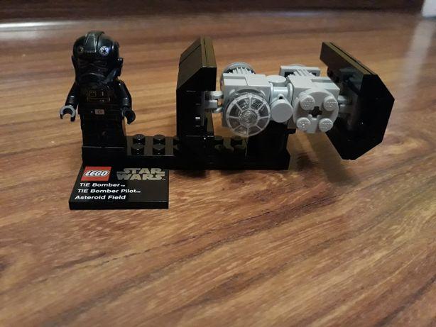 LEGO Star Wars75008-TIE Bomber pole asteroid+czołg+robot ze Star Wars