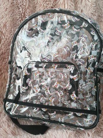 Plecak przezroczysty OVS