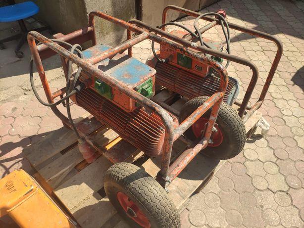 Mechaniczna przetwornica Wacker FU 4/200 wibrator do betonu