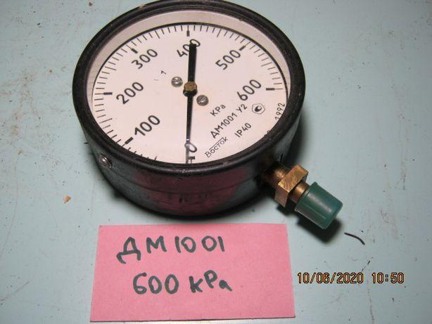 Манометр ДМ 1001 ГМОШ-160 3-600кПа стрілочний
