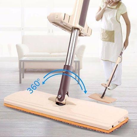 Швабра-лентяйка Spin Mop инновационная сист. отжима одним движением